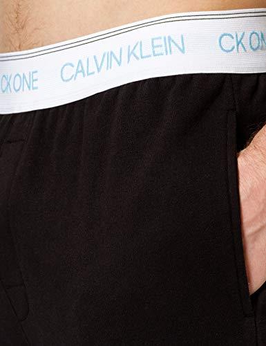 Calvin Klein Jogger Pantaln de Pijama, Negro, S para Hombre