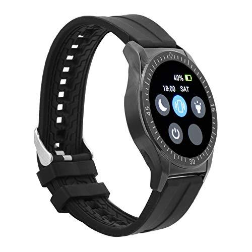 SALUTUYA Cómodo G6 Modo de Ejercicio múltiple de Reloj Inteligente fácil de Usar, para Deportes(Black)