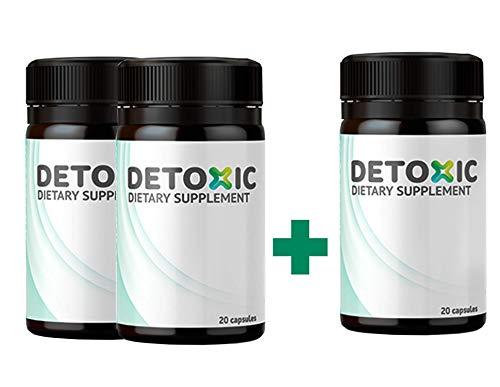 Detoxic – Suplemento dietético - Tratamiento de desintoxicación de 10 días 2+1