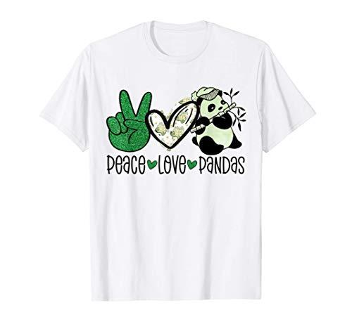 Peace Love Pandas Amantes de los Pandal Oso Panda Hippie Cam