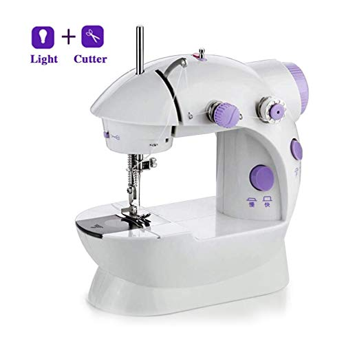 Why Should You Buy WXCC Beginner Mini Sewing MachinePortable Basic Sewing Machine with LED Light Lig...