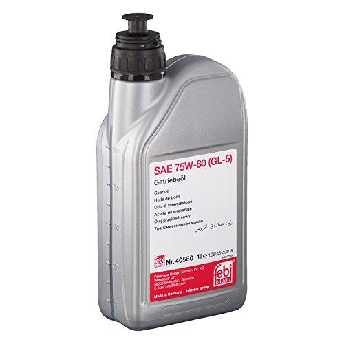 febi bilstein 40580 Getriebeöl SAE 75W-80 (GL-5) , 1 Liter