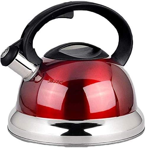 Stove Top Ketels, Safe Whistling Stovetop Kettle, Geschikt for alle kookplaat/fornuis Types inclusief inductie (Color : A 3L)
