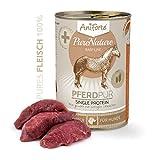 AniForte® PureNature easyBarf Single Protein 400g 100% Fleisch Hundefutter- Naturprodukt für Hunde (Pferd Pur, 6x400g) - 3