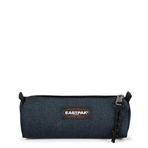 Eastpak Benchmark Single Estuche, 21 cm, Azul (Triple Denim)