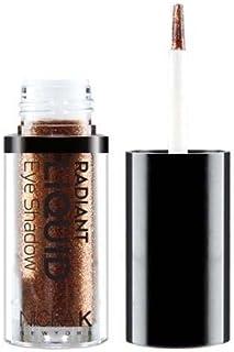 (3 Pack) NICKA K Radiant Liquid Eye Shadow - Earthly Bronzite (並行輸入品)