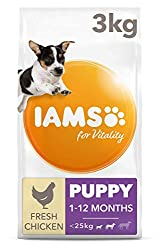Prebiotics and beet pulp for healthy digestion DHA for smart puppies Chicken to help build strong muscles Antioxidants to support immune system development Rich in succulent roast chicken