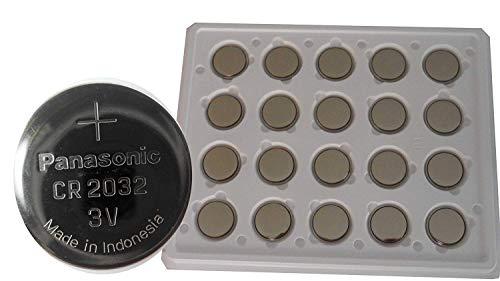 Panasonic CR2032pila a bottone (400Confezione da, 3V) argento