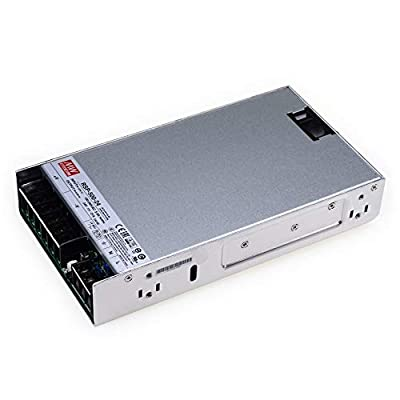 MEAN WELL RSP-500-24 DC Power Supply 500W/24V/21A PFC for 3D Printer, LED Strip Light, Industrial Control System NES/SE/S
