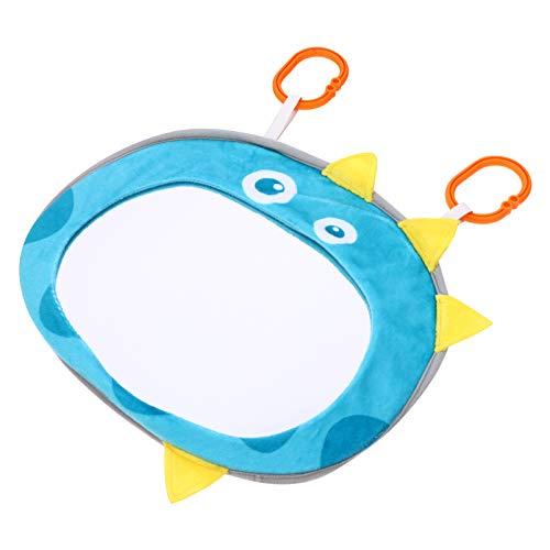 TOYANDONA Baby Bauch Zeitspiegel Spielzeug Entdecken Und Spielen Aktivität Spiegel Dinosaurier Design Baby Auto Spiegel Säugling Interaktive Spiele Spielzeug