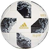 adidas World Cup J290 Balón, Hombre, Blanco/Negro/Plamet, 5