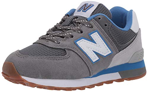 New Balance 574 PC574ATR Wide, Zapatillas Niños, Grey (Castlerock ATR), 35 EU