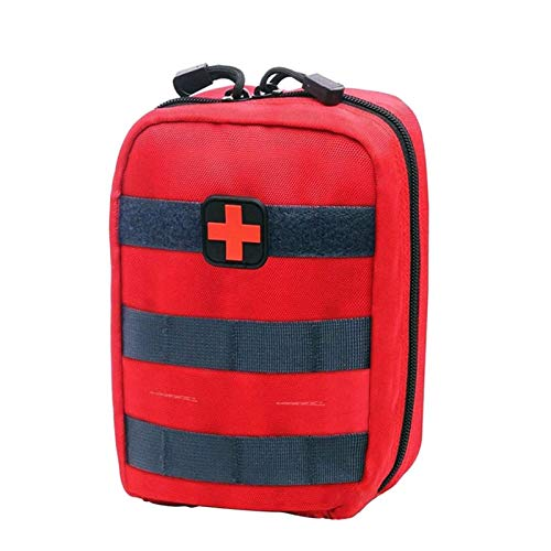 WZYJ First Aid Kit Bag, Multifunction Outdoor Camping Emergency Survival Kit, for Travel, Home, Office, Car, Camping, Workplace,B
