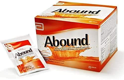 Abound Aminoacidi e HMB, Miscela di Aminoacidi con Arginina, Glutammina e HMB, Bustine in Polvere, senza Glutine, senza Lattosio, Gusto Arancia, Confezione 14 x 24 gr