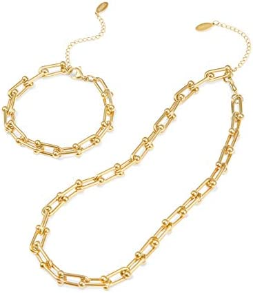 Chunky Necklaces for Women Gold Chain Necklace for Women 14k Gold Chain Necklaces for Women product image