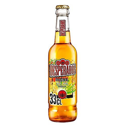 DESPERADOS cerveza con tequila botella 33 cl