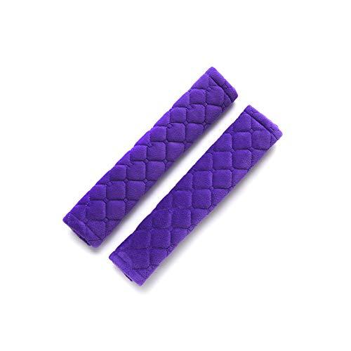 Protector Cinturon Coche NiñOs Extensor Cinturon Seguridad Coche Correa de asiento de coche Anti Escape El cinturón de seguridad Clips Purple,One Size