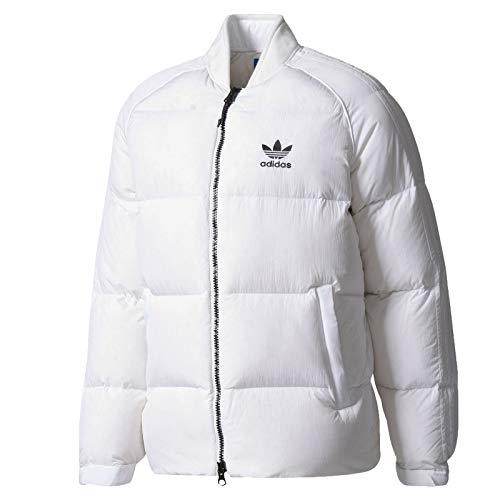 adidas Originals Superstar Down Jacket Winter Daunen Jacke Steppjacke Weiß, Größe:L, Farbe:Weiß
