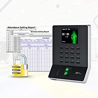 ZKTeco Fingerprint Attendance Machine with Wi-Fi and USB Port - WL20