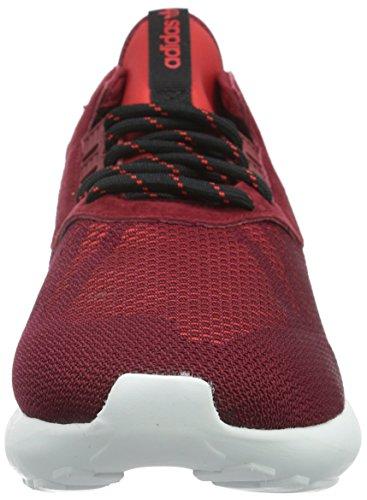 adidas Tubular Runner Weave - Zapatillas de deporte Hombre, Bordeaux, EU 44 (UK 9.5)