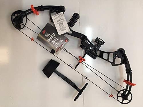 PSE 2018 Stinger Extreme Custom Black/HOT Orange Package 40-70LB. Ready to Shoot