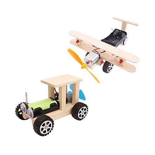 FLAMEER Modèle d'avion Biplan Voiture Décor Maison Collection Jouets