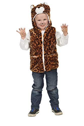 Andrea Moden Luipaard vest voor kinderen