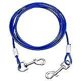 NATUCE Cable para Atar Perros, 10 pies (3 Metros) Cable de Amarre para...