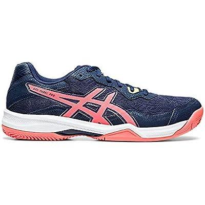 asics Gel, Running Shoe Hombre, Peacoat/Flash Coral, 42 EU
