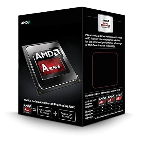 AMD A10-6800K Black Edition Quad-Core Prozessor (4,1 GHz, Socket FM2,B99 4MB Cache, 100 Watt)