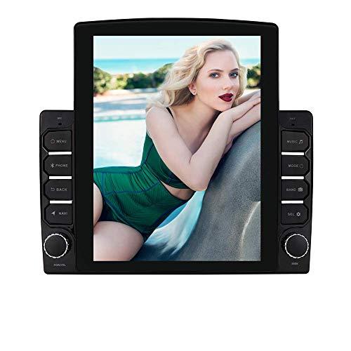 Navegación GPS universal para automóvil Android 10 con pantalla táctil de 9.7 pulgadas, 2GB + 32GB Soporte estéreo para automóvil de doble Din Control del volante Bluetooth Mirror-link Radio FM