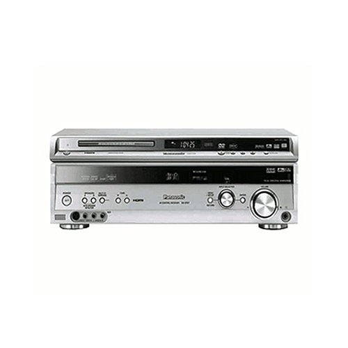 Panasonic SF HT 955 EGS Heimkino-System (Set incl. Receiver SA XR 57 und DVD-Player DVD S 52) silber