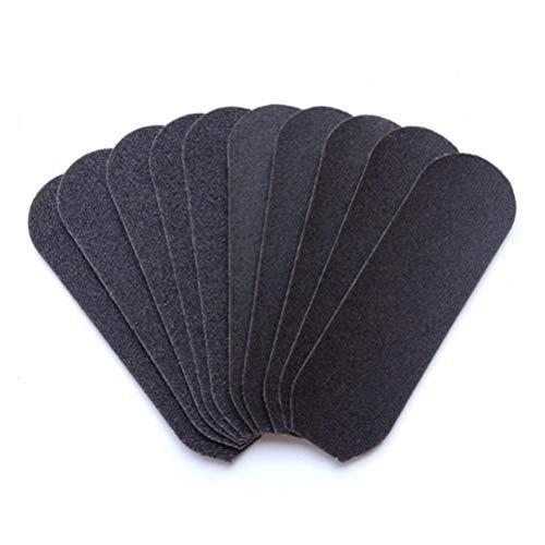 Frcolor Repuesto de archivo de pedicura de reemplazo de Sandpapers 60pcs para archivo de raspado de pie de doble cara