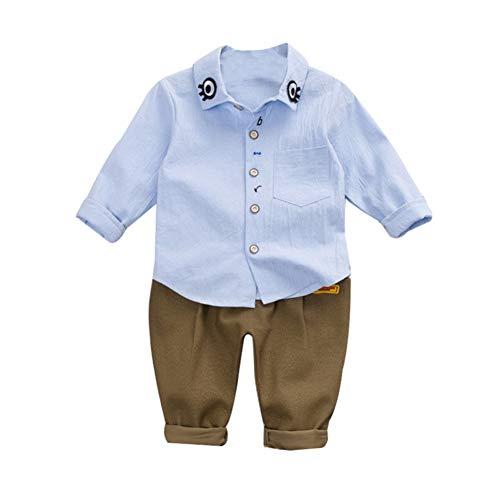 Handfly Otoño bebé Ropa de niño Lindo de Dibujos Animados Ojo Imprimir Camisa de Manga Larga Blusa Pantalones niños niños Trajes Conjunto de Ropa para 0-5 años