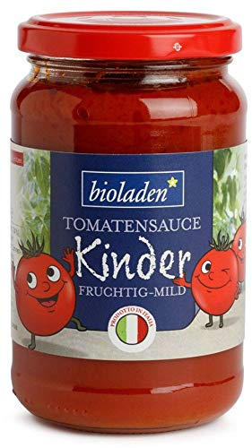 bioladen Bio Tomatensauce für Kinder (6 x 340 gr)