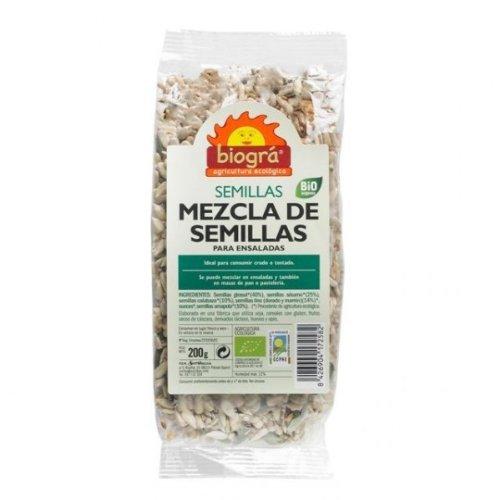 IJSALUT - Semillas Ensalada Mezcla Bio Biogra 200 Gr