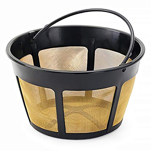 NRP (Taller) 12-cup Screen Bottom Permanent Coffee Filter Replacement...