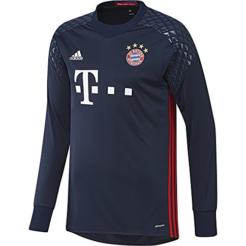 adidas Herren Torwart/Heim-trikot FC Bayern München Replica heimtrikot, Night Indigo/Red/Night Marine, M