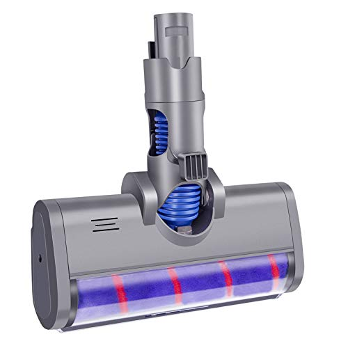 ARyee Replacement Attachments Tools Kit for Dyson V6 DC45 DC58 DC61 DC62, Dyson Cordless Vacuum Accessories (Soft Roller Cleaner Head)