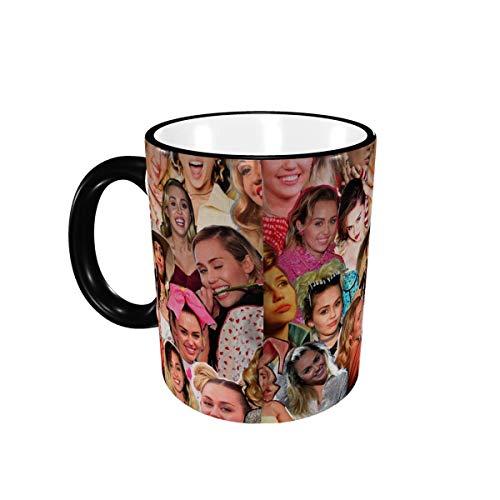 Abstrakte geschwungene Linien – lustige Kaffeetasse aus Keramik, Farbwechsel, für Kaffee und Tee, Vorlage, Broschüren-Design, Design Nr. 18, 325 ml