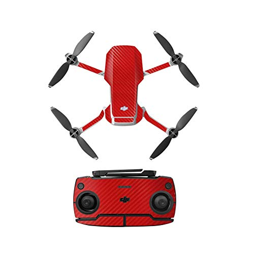 xiegons0 Drone PVC Colorato Adesivo Pelle, Impermeabile PVC Adesivi per DJI Mavic Mini, Full Body Adesivo Impermeabile PVC Cover Skin per DJI Mavic Mini Drone - 2, Free Size
