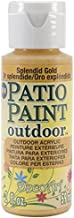 DecoArt Patio Paint, 2-Ounce, Splendid Gold