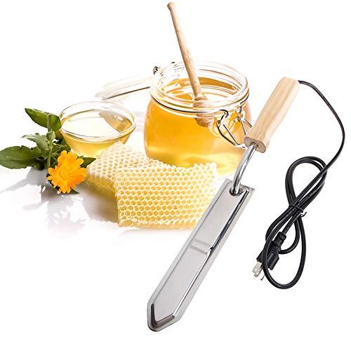 Tokenhigh Estrattore di Miele,Coltello Elettrico disopercolatore per Apicoltore per l?Estrazione del Miele...
