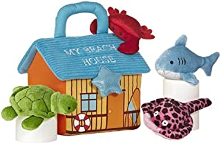"Aurora World Baby Talk My Beach House Carrier 8"" Plush"