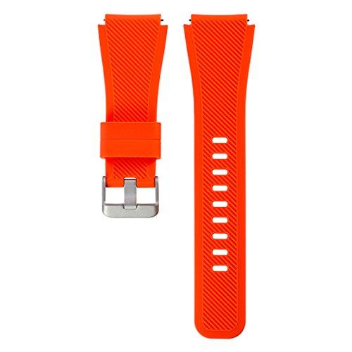 FangWWW - Correa de Silicona para Reloj Samsung Gear S3 Frontier Classic L