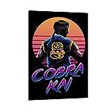 Cobra Kai 5 Vintage Classic Movie TV Poster Wandkunst