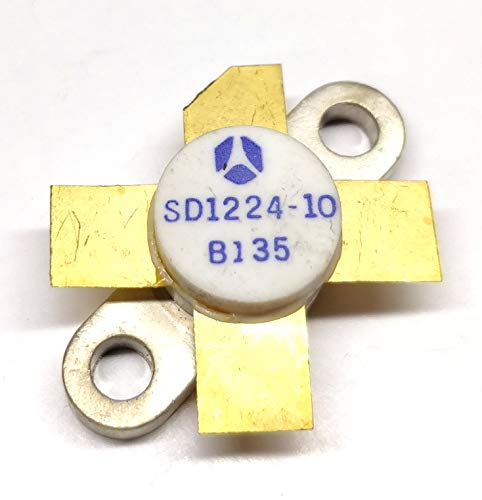 1 Stück SD1224-10 | RF & MICROWAVE Transistor | for HF SSB APPLICATION | 30MHz POWEROUT | = 30W min. with 10.0 dB min. GAIN Vce 28V | STMicroelectronics | M113 Gehäuse