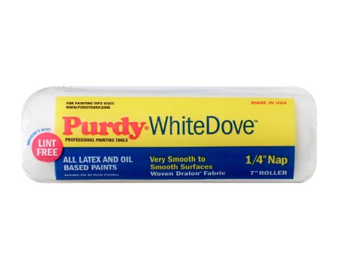 Purdy 140662071 White Dove Roller Cover, 7 inch x 1/4 inch nap