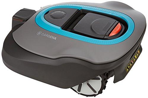 Gardena 04054-24 - Robot cortacésped Sileno Plus, Azul, 30
