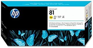 C4953A (HP 81) Printhead amp; Cleaner, Yellow